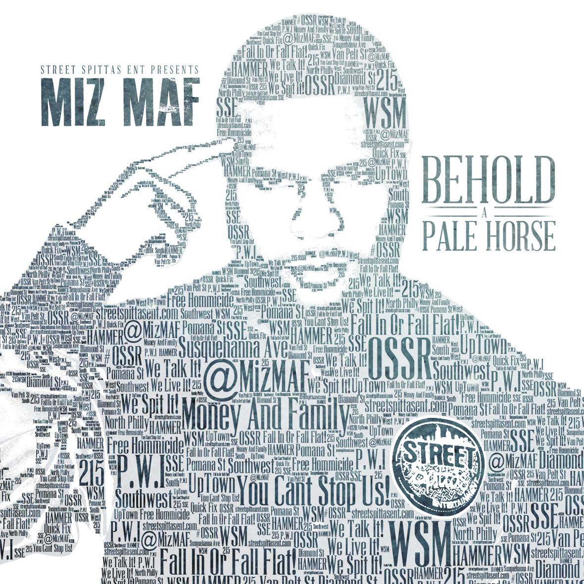 Miz MAF - Behold A Pale Horse ARTWORK
