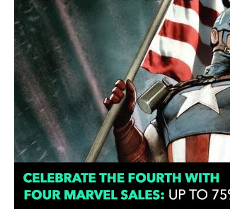 Celebrate the Fourth with FOUR Marvel Sales: up to 75% off!.