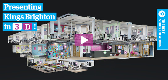 Explore Kings Brighton in 3D