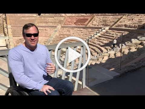 Wheelchair Access Review of Cartagena Spain by John Sage