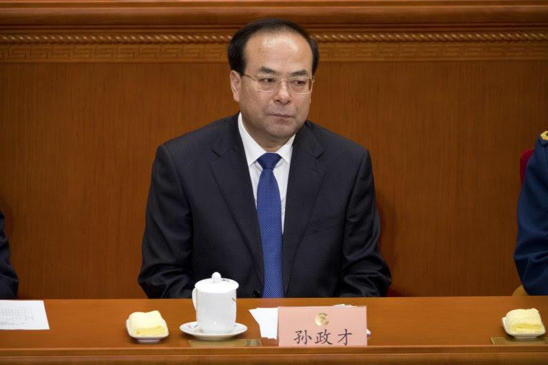 中國官方《新華社》24日宣布,中共政治局委員、前重慶市委書記孫政才「嚴重違紀」,由中紀委立案審查(AP)