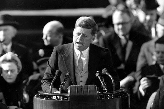 Bildergebnis für Bilder Kennedy 1961 Rede