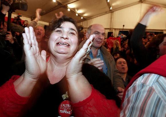 partidarios de syriza 1