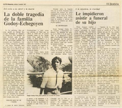 Recortes de Prensa: HACE 26 AÑOS