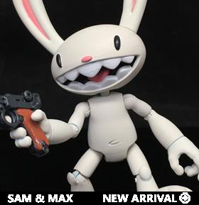 Sam & Max Deluxe Max Figure