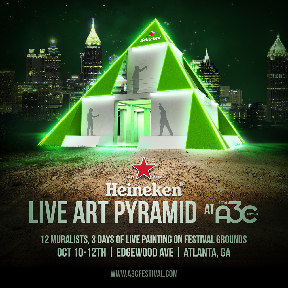 Heineken_Art_Pyramid A3C's 10th Anniversary Festival Kicks Off Tomorrow