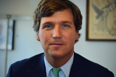 "Tucker Carlson is a former co-host of CNN's ""Crossfire"" and founder of the Daily Caller, a right-leaning news and opinion site."