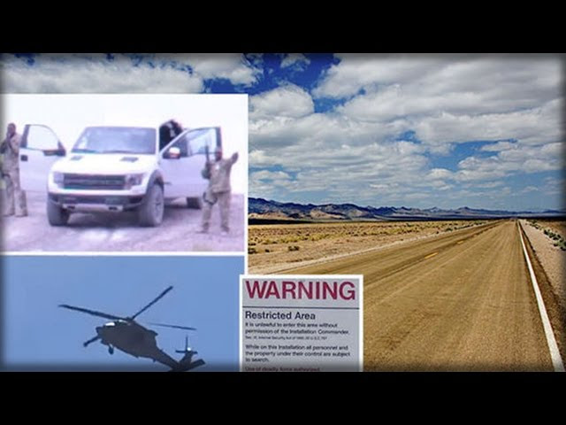 SNIPERS CAUGHT NEAR AREA 51 GATES TO STOP INTRUDERS  Sddefault