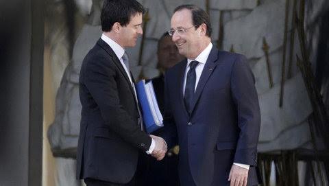 Hollande y Valls en una foto de archivo.