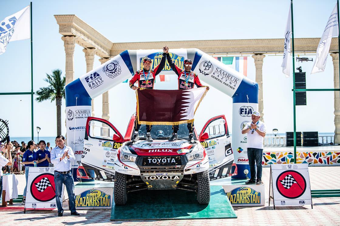 Al-Attiyah digs deep to hold off Peterhansel at Rally Kazakhstan
