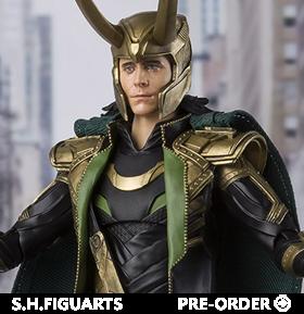 The Avengers S.H.Figuarts Loki