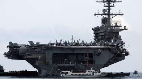 Pentágono: Un marinero del portaviones Theodore Roosevelt ingresa a cuidados intensivos por covid-19 y más de 416 están infectados