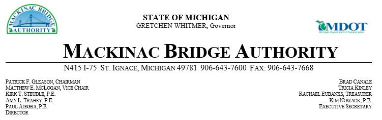 Mackinac Bridge 9-19-19