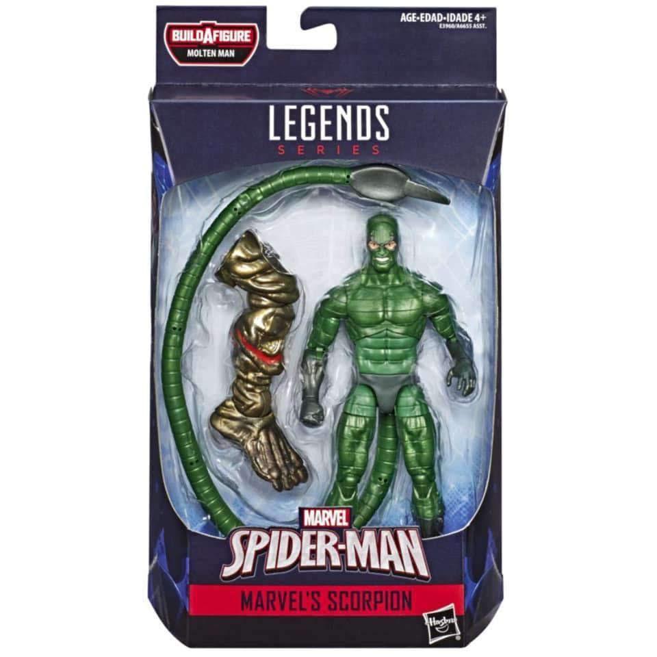 Image of Amazing Spider-Man Marvel Legends Wave 12 - Scorpion