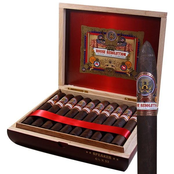 Image of House Resolution Speaker Cigars