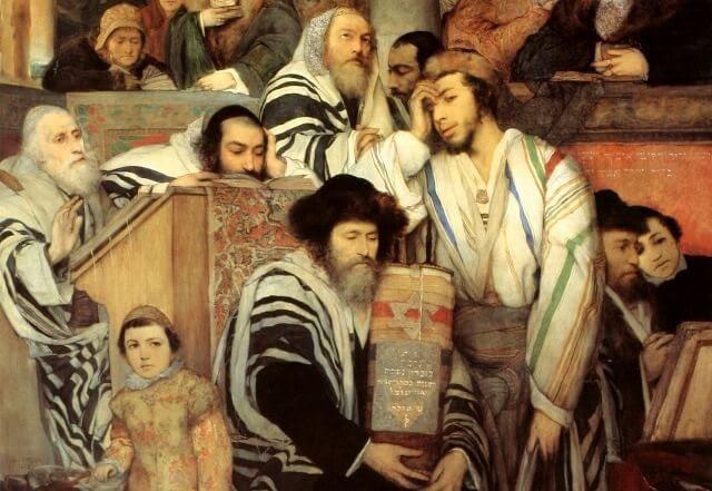 Praying_on_Yom_Kippur