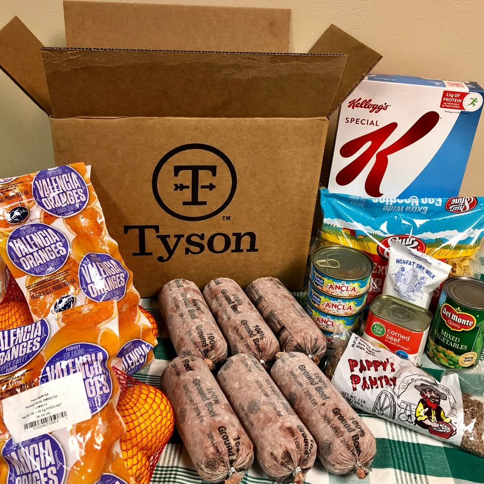 High Plains Food Bank Tyson Food Distribution @ Amarillo | Texas | United States