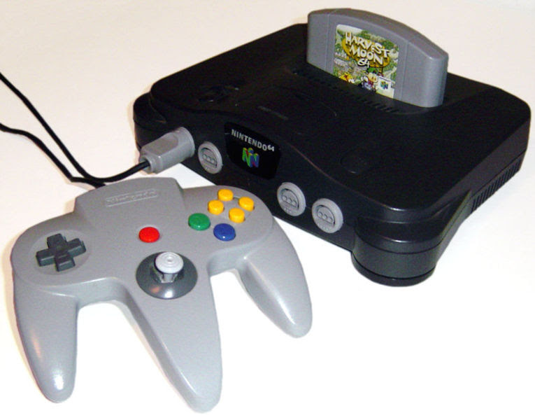 toys from the 90s - Nintendo 64