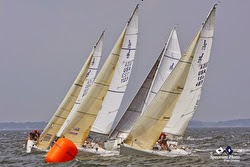 J/80s sailing Buzzards Bay Regatta