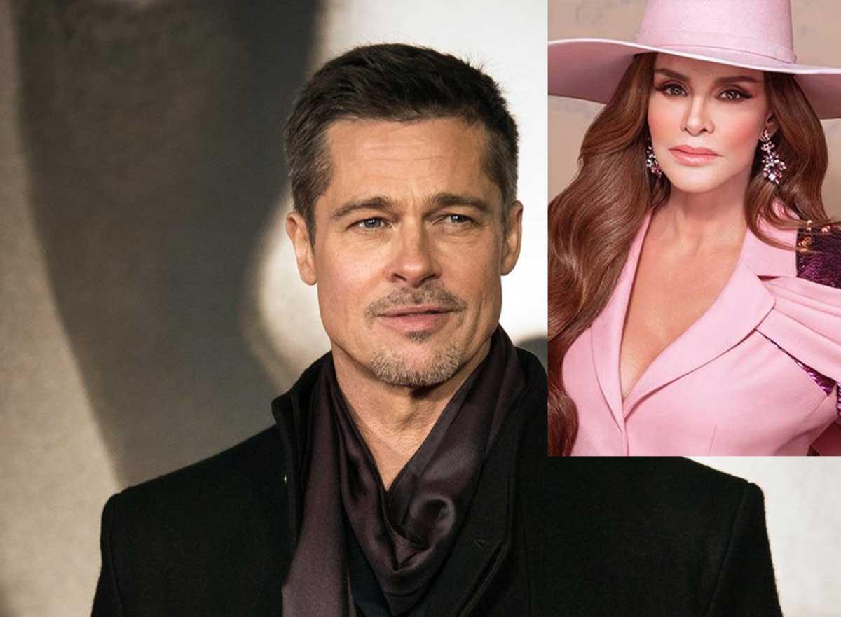 Lucía Méndez conoció a Brad Pitt y fue una 'experiencia decepcionante'