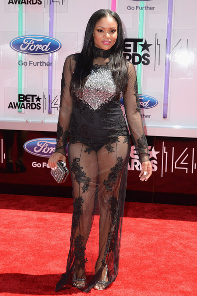 Actress Erica Hubbard attends the BET AWARDS '14 at Nokia Theatre L.A. LIVE on June 29, 2014 in Los Angeles, California.