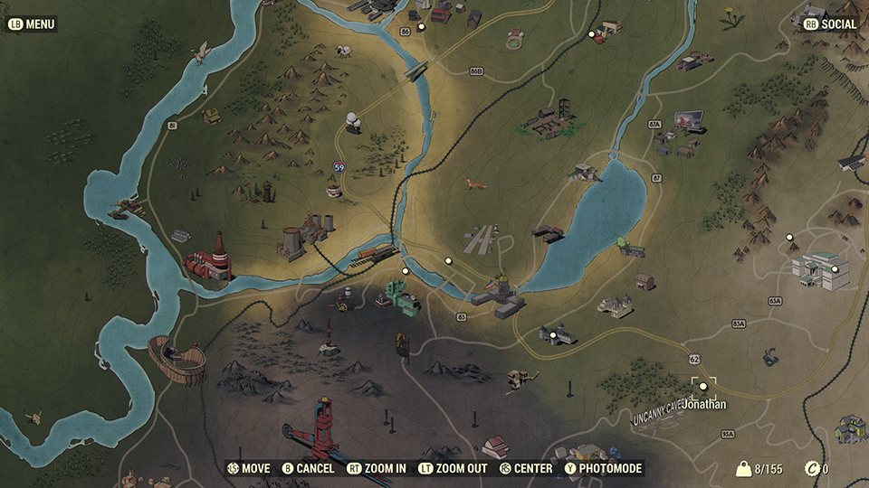 Fallout76 WhatsNew Map