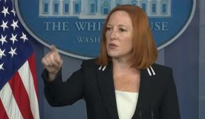 """Jen Psaki Snaps on Reporter After He Asked About """"Catholic"""" Joe Biden Supports Abortion"""