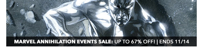 Marvel Annihilation Events Sale: up to 67% off! | Ends 11/14