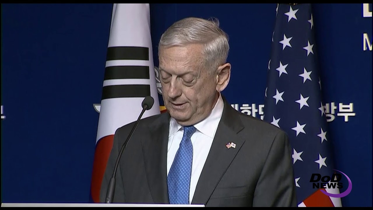Mattis: Diplomacy Must be Backed by 'Credible' Military Force