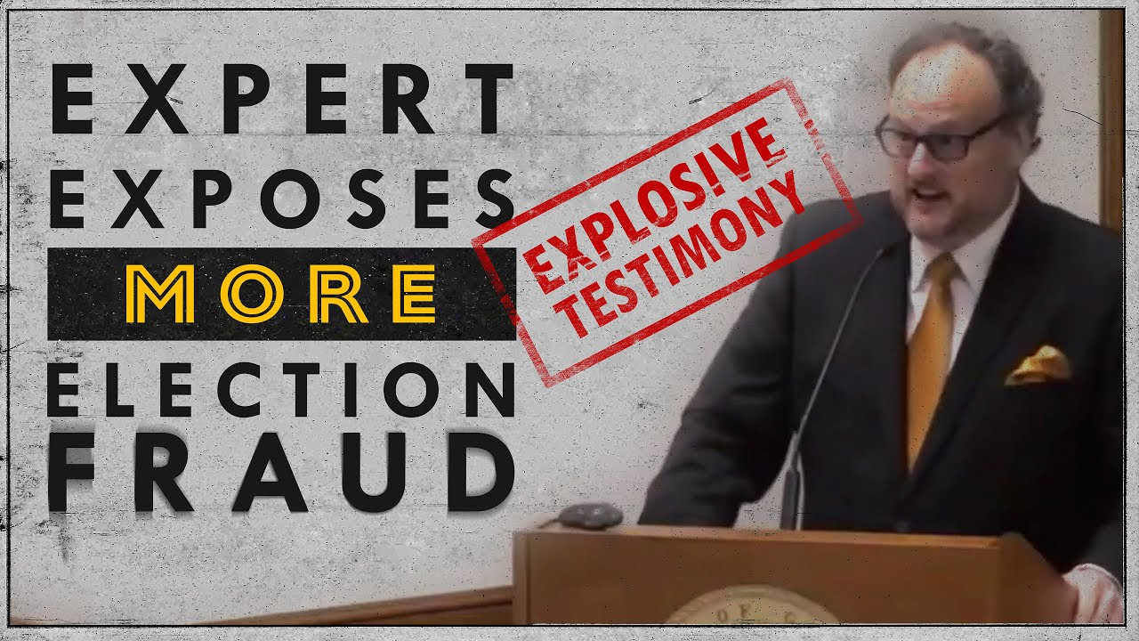 Explosive Testimony Exposes MORE Evidence of Election Fraud! 6exhDCtF1K