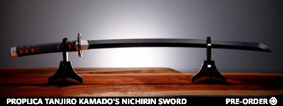 Demon Slayer: Kimetsu no Yaiba Proplica Tanjiro Kamado's Nichirin Sword