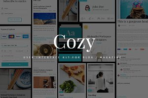Cozy UI Kit for Blog / Magazine