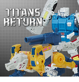 TITANS RETURN DELUXE WOLFWIRE & TWIN TWIST