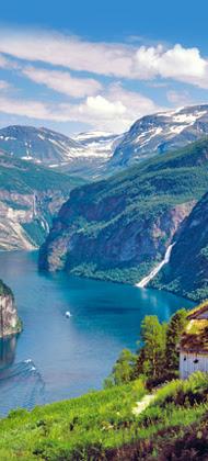 Erleben Sie die traumhafte Landschaft Fjord Norwegens