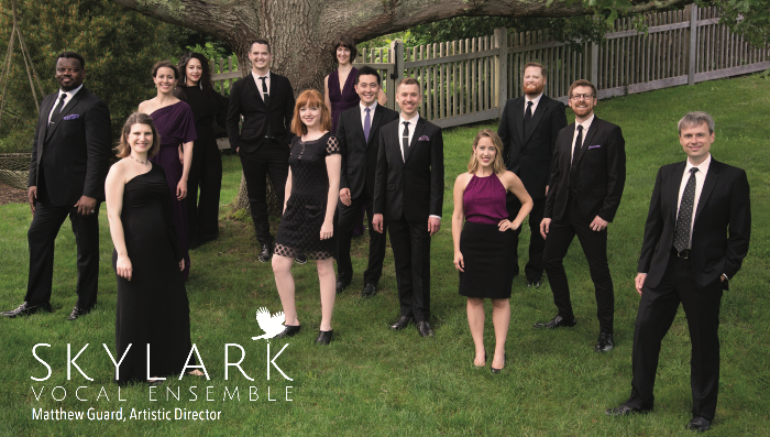 Skylark Vocal Ensemble group photo
