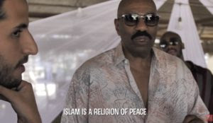 Steve Harvey: 'Islam is a religion of peace'