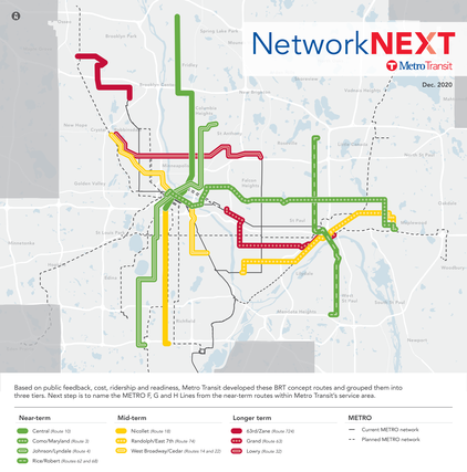 BRT Planning Map