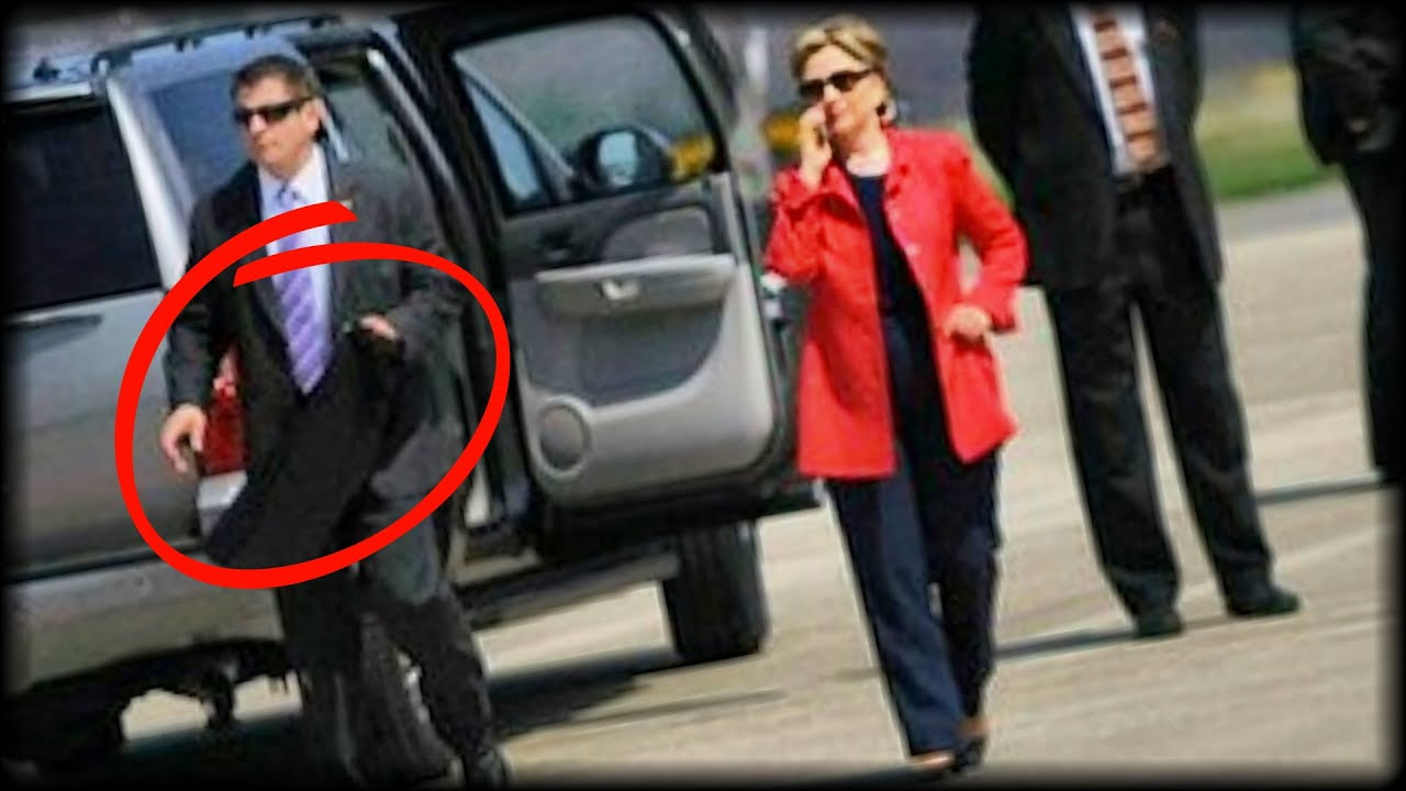 Hillary's Secret Service Agent Spills Terrifying Truth