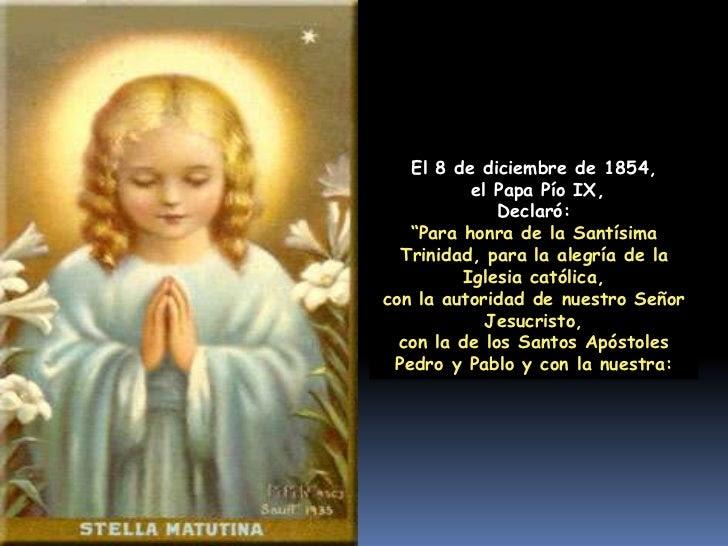 Resultado de imagen para inmaculada concepcion de maria oracion