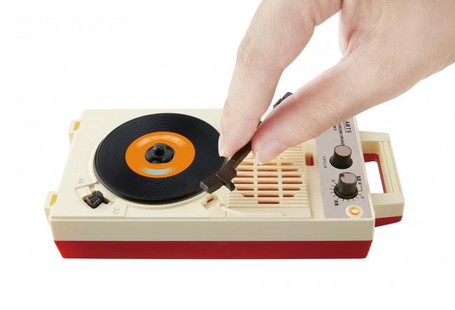 針を落とすと音楽が流れ出すBluetooth(R)スピーカー【昭和レコードスピーカー】