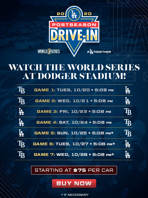 Be at Dodger Stadium this week to cheer on our Boys in Blue during the World Series.