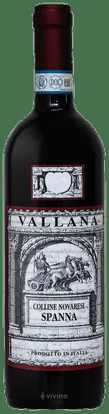 Vallana Spanna Colline Novaresi 2016 | Wine Info
