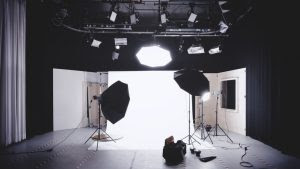 a studio for a nottingham video production company creative video agency promotional video