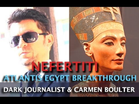 NEFERTITI BREAKTHOUGH! ATLANTIS EGYPTIAN HALL OF RECORDS - DR. CARMEN BOULTER & DARK JOURNALIST  Hqdefault