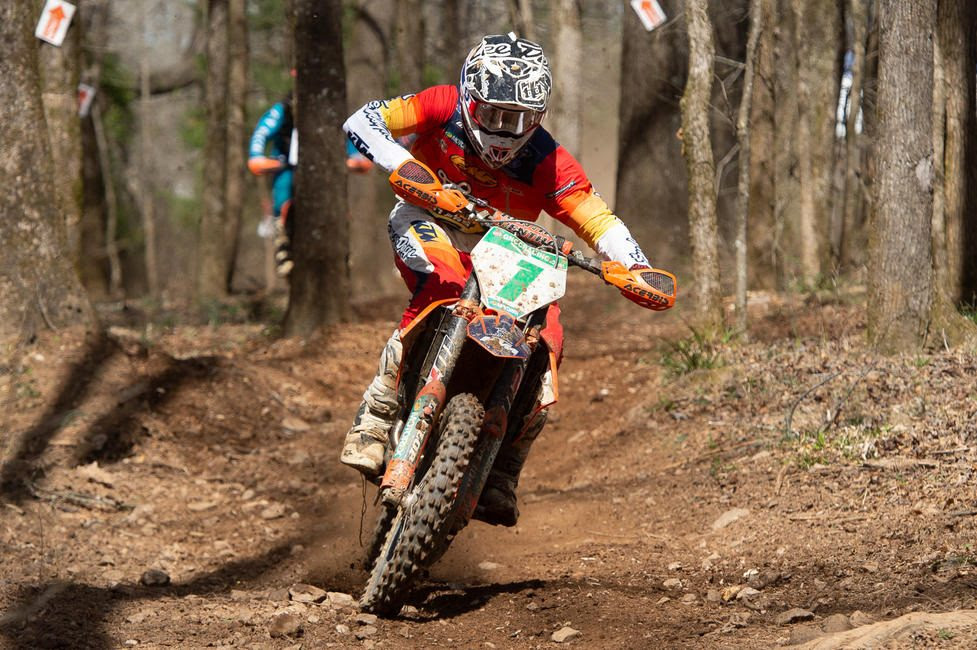 Ben Kelley clinched his second-straight XC2 250 Pro class win in Georgia.