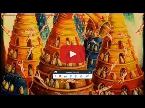 Vidéo faisant la promotion de l'art surréaliste de Ribeiro par le poète Vincenzo Cali, la journaliste Analina Grasso et l'acteur Maurizio Pianucci
