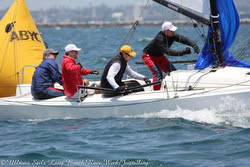 J/70s sailing Ullman Sails Long Beach Race Week