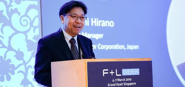 Satoshi Hirano, de Toyota, honoré comme personnalité de l'année F & L Asie. 53af6c65-1ea9-4df6-9358-8a5bbdbdfe2e