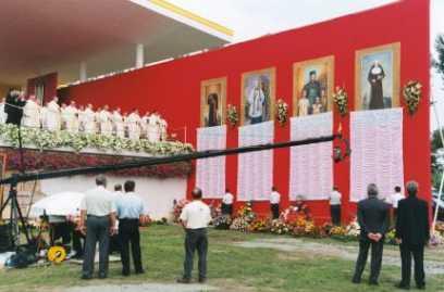 Beatyfikacja Zygmunta Szczęsnego Felińskiego, Kraków 18.08.2002