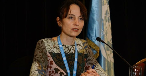 UN Special Rapporteur on the negative impact of unilateral coercive measures on the enjoyment of human rights Alena Douhan visited Caracas in February. (@CancilleriaVE / Twitter)
